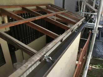 墨田区 波板の屋根修理