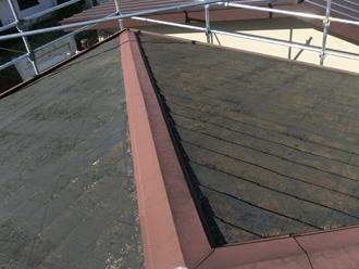 葛飾区 屋根カバー工法前の屋根