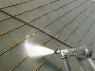 江戸川区 屋根塗装 高圧洗浄