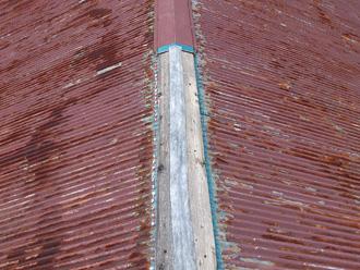江東区 トタン屋根の葺き替え工事 錆びた屋根