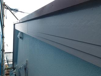 墨田区 破風板も塗装