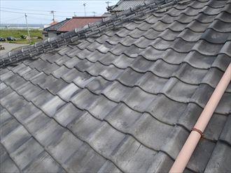 屋根,色褪せ