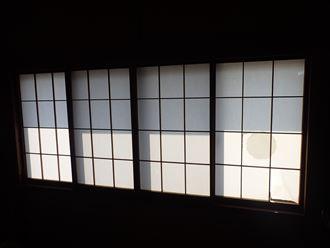 戸襖付きサッシ