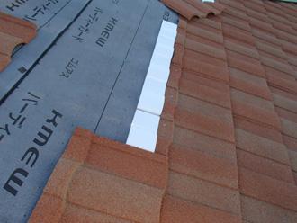 墨田区 屋根葺き替え工事 屋根材設置 ディーズルーフィングのローマン