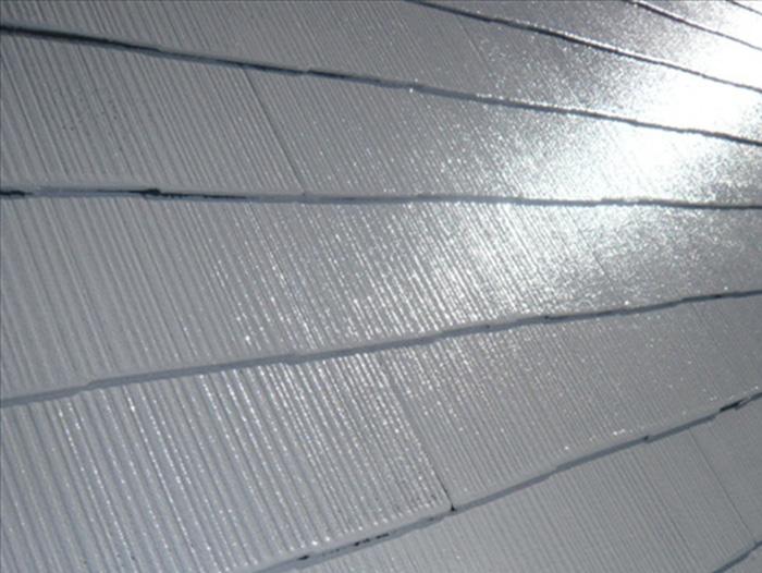 荒川区 屋根塗装 塗装後