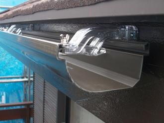 葛飾区 雨樋交換工事 エスロンΣ-90を設置