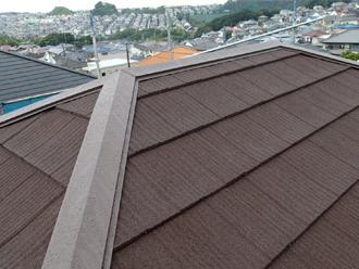 エコグラーニで施工された屋根