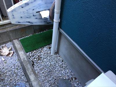 竪樋設置工事,完了