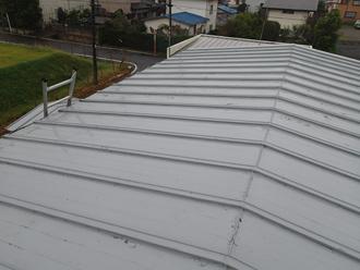 瓦棒のトタン屋根