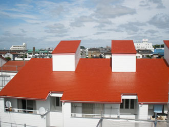 アパートの塗装事例