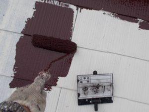サーモアイSiで屋根塗装