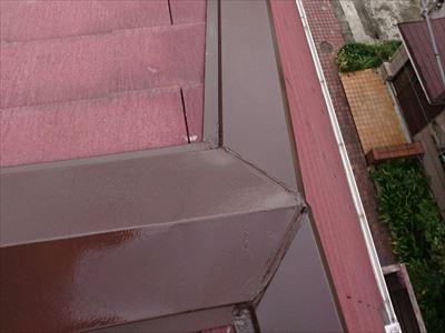 棟板金塗装完了