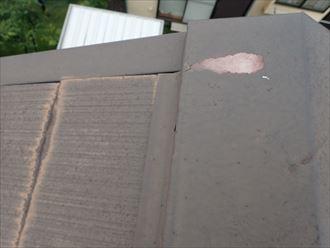 屋根スレート点検