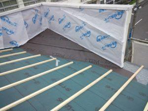 工場の屋根葺き替え工事