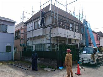 外壁塗装,施工前