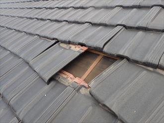 屋根,捲れ