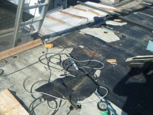 瓦棒屋根の葺き替え工事