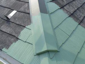 ヤネMシリコンで行った屋根塗装