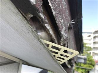 軒天,破風板破損
