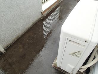 ベランダ防水機能の低下