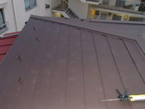 屋根葺き替え工事 ヒランビー使用