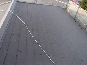コロニアルグラッサで屋根葺き替え工事