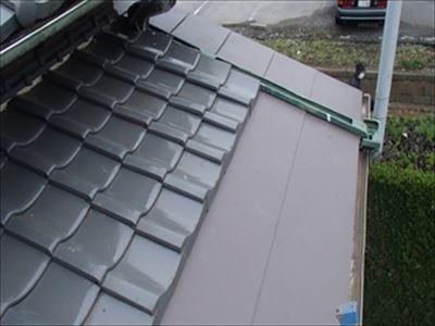 GL鋼板,屋根葺き替え