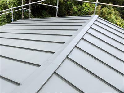 袖ヶ浦市|アールロックによる屋根カバー工法で雨漏り解消!、施工後写真