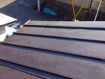 屋根葺き替え工事瓦棒