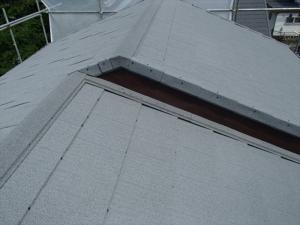 金属屋根への葺き替え工事