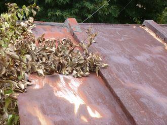 屋根,錆び,腐食