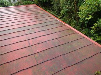 袖ヶ浦市|アールロックによる屋根カバー工法で雨漏り解消!、施工前写真