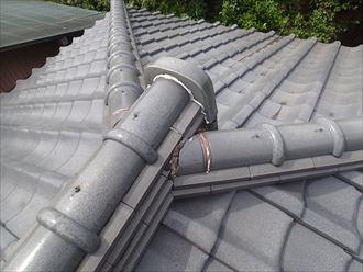 大屋根点検