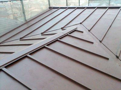 屋根葺き替え工事,完工