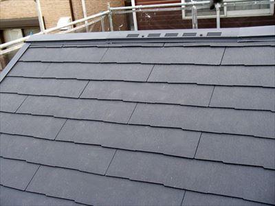 屋根葺き替え工事,コロニアルクァッド