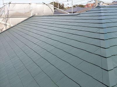 屋根塗装,完了