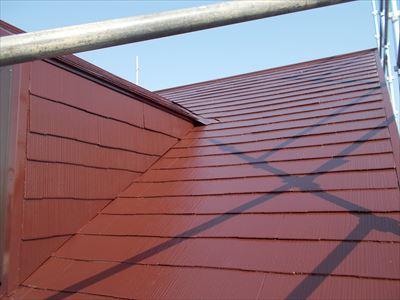 屋根塗装工事,完了