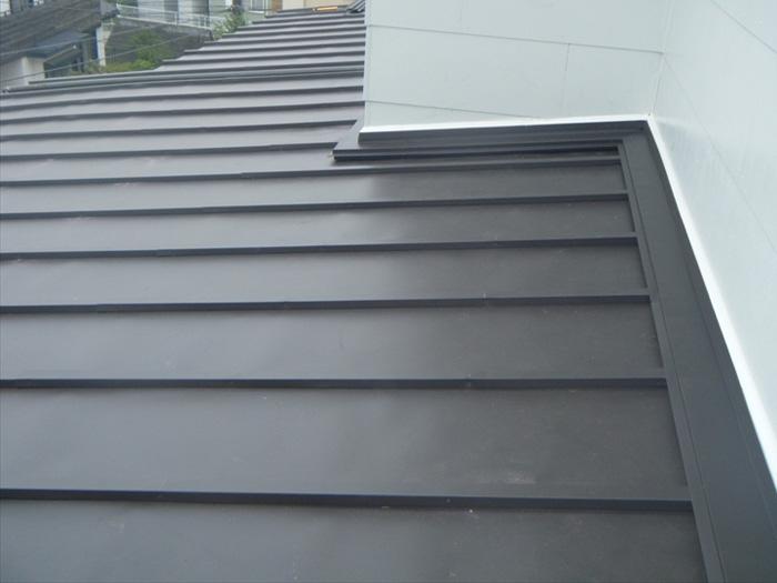 川崎市宮前区 下屋の屋根葺き替え工事 完了