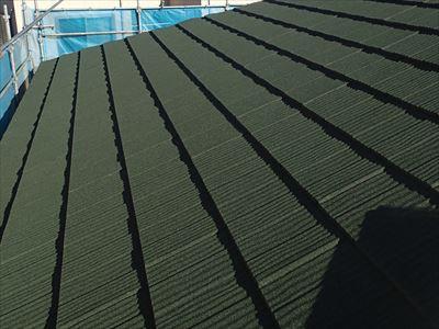 屋根カバー工法,完了