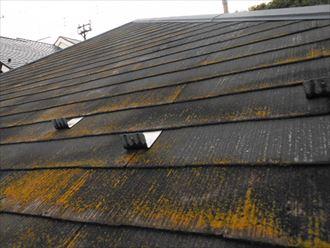 市原市|屋根塗装と外壁クラック補修で美観性・防水機能を向上!、施工前写真