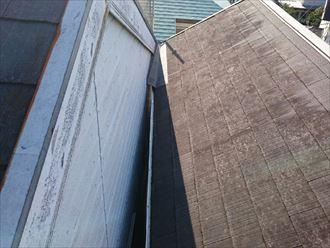 屋根外壁の取り合い