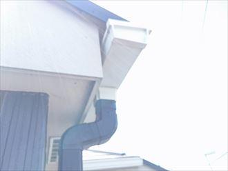 軒樋,竪樋の色違い