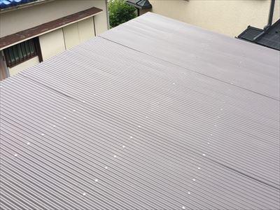 GL鋼板屋根葺き替え