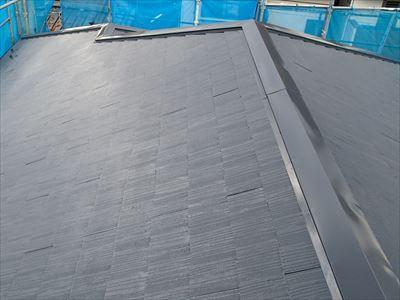 屋根塗装,棟板金,完了