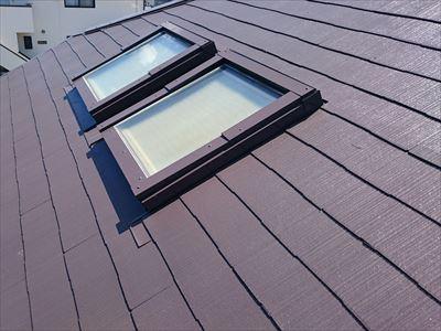 天窓,屋根塗装,完了