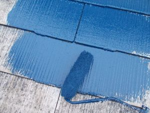 中塗り,屋根塗装