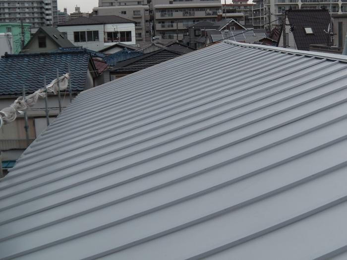 川崎市中原区 屋根葺き替え 完了