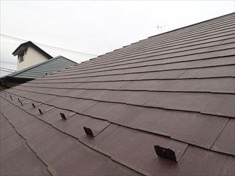 横浜市西区|葺き替えを屋根塗装に変更!雨樋も交換メンテナンス!、施工前写真
