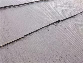 富津市|屋根塗装後の大雨で雨漏りが…縁切り不足が原因でした、施工前写真