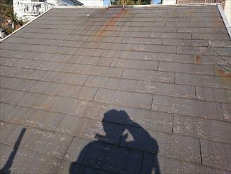 屋根塗装工事,施工前